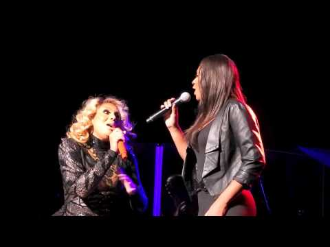 Tamar and Trina Braxton Sing The Chipmunk Song On Stage