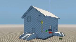 Cryengine #1 Lesson building of the house, creating object Создание объектов, настройка теней