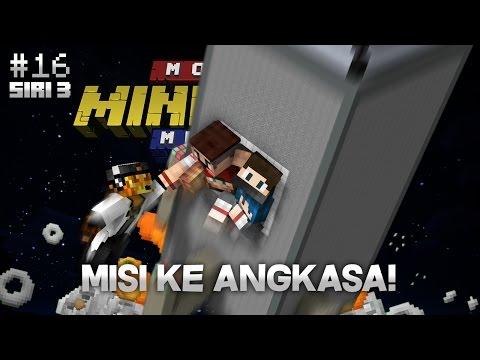 Modded Minecraft Malaysia S3 - E16 - Misi Ke Angkasa!