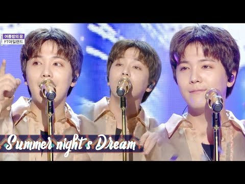 [HOT]FTISLAND - Summer Night's Dream , FT아일랜드 - 여름밤의 꿈 Show Music core 20180804