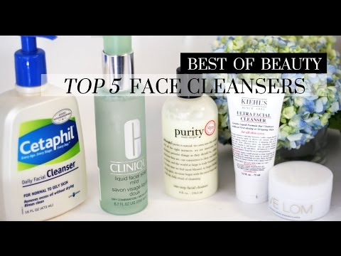 Top 5 Best Facial Cleansers | LookMazing