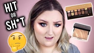 WORTH THE $$? | ABH SOFT GLAM PALETTE + AMREZY HIGHLIGHT REVIEW