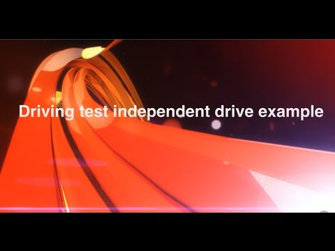 Independent Driving test route