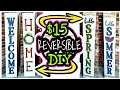 Dollar Tree DIY Porch Decor / Real Wood DIY Porch Sign