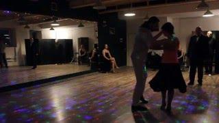 Милонга 29 апреля 2016 Танец именинницы Елены и наши ученики на милонге )))