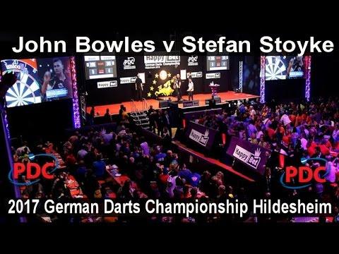2017 German Darts Championship Hildesheim John Bowles v Stefan Stoyke |  First Round