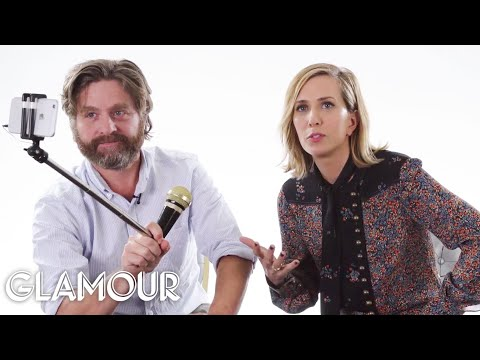 Zach Galifianakis and Kristen Wiig Rate Kid Stuff | Glamour