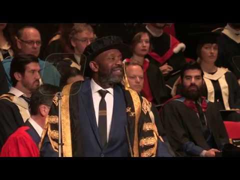 Chancellor of Birmingham City University, Sir Lenny Henry