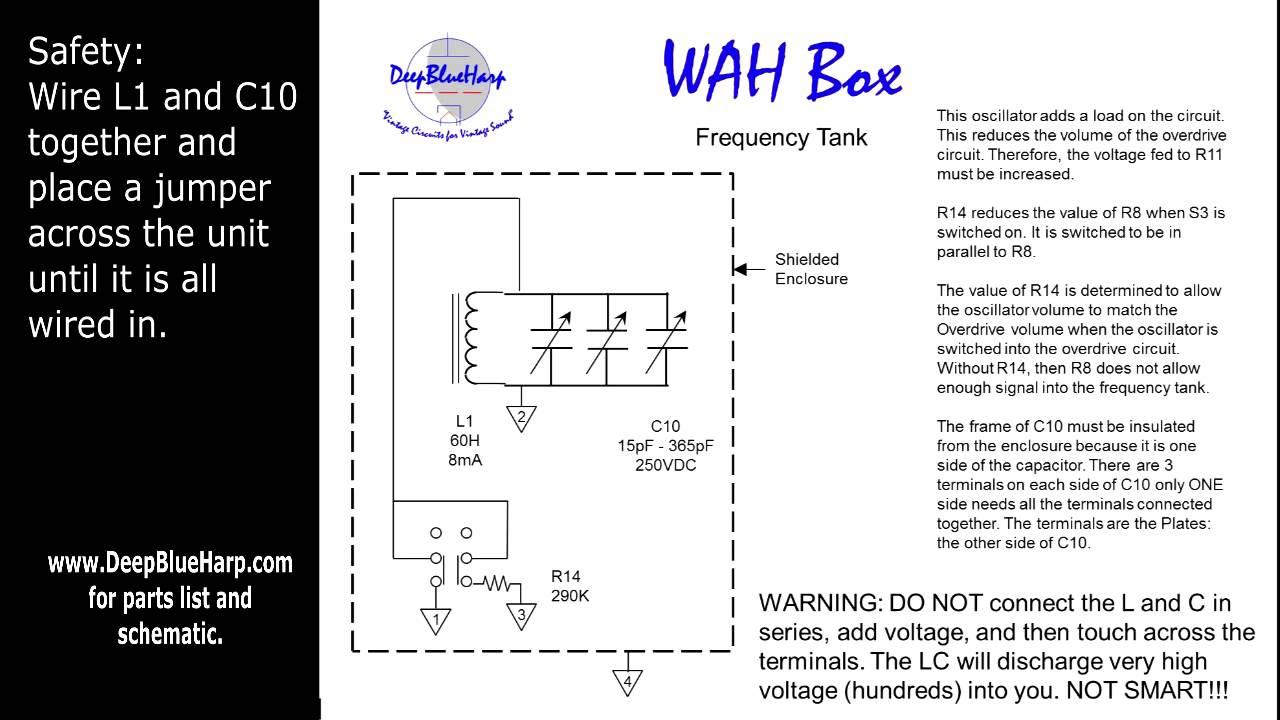 the wah box circuit [ 1280 x 720 Pixel ]
