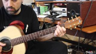 Markacoustic AC801P played by Ciro Manna