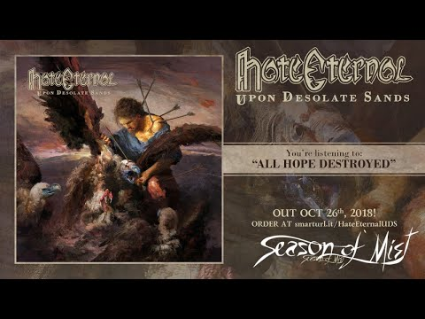 Hate Eternal - All Hope Destroyed (official track premiere)