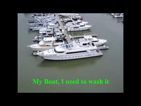 Everett marina and Jetty Island
