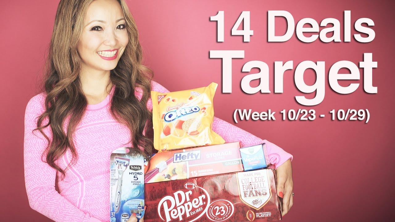 5 FREEBIES - Target Coupon DEALS (Week 10/23-10/29) - YouTube