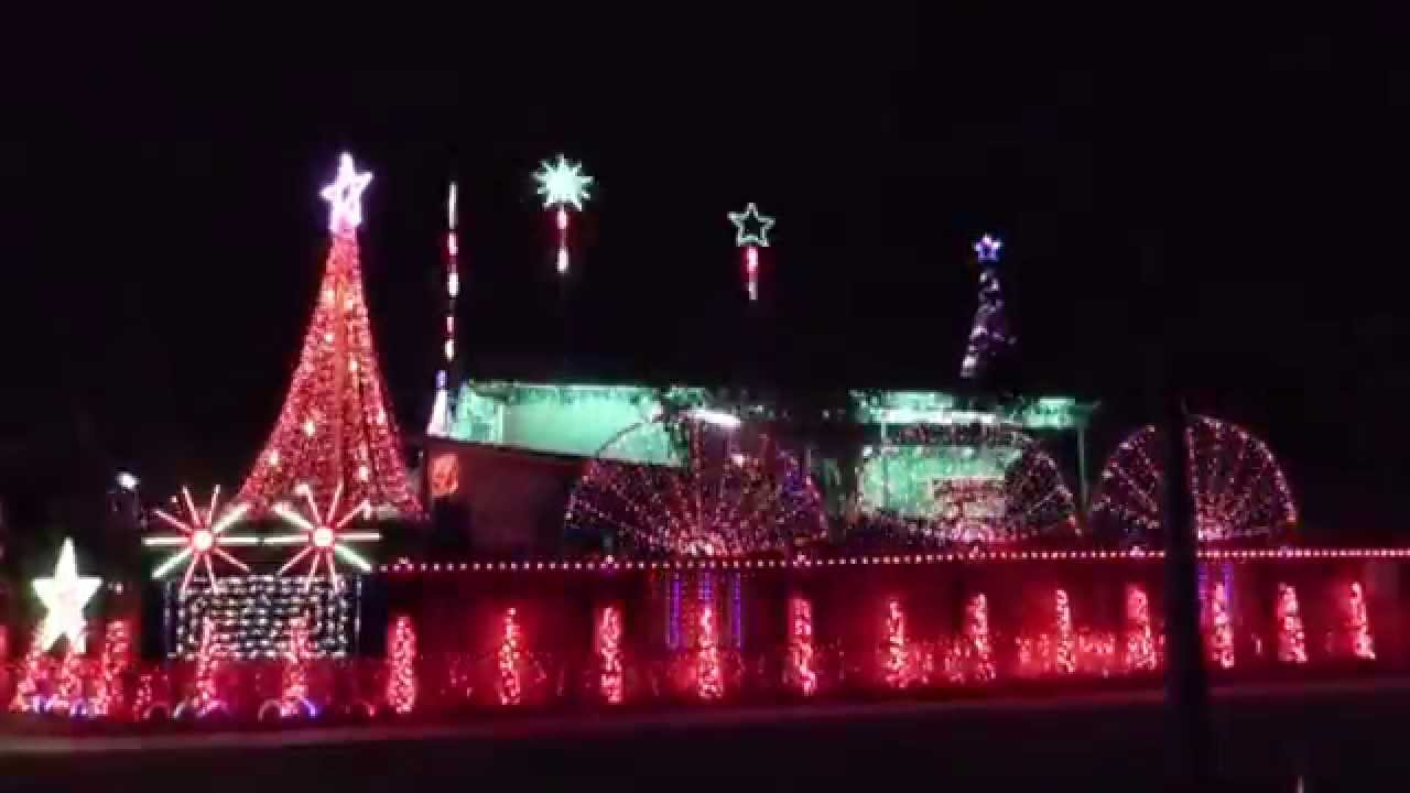 2014 brisbane christmas lights 3 furness crescent sinnamon park