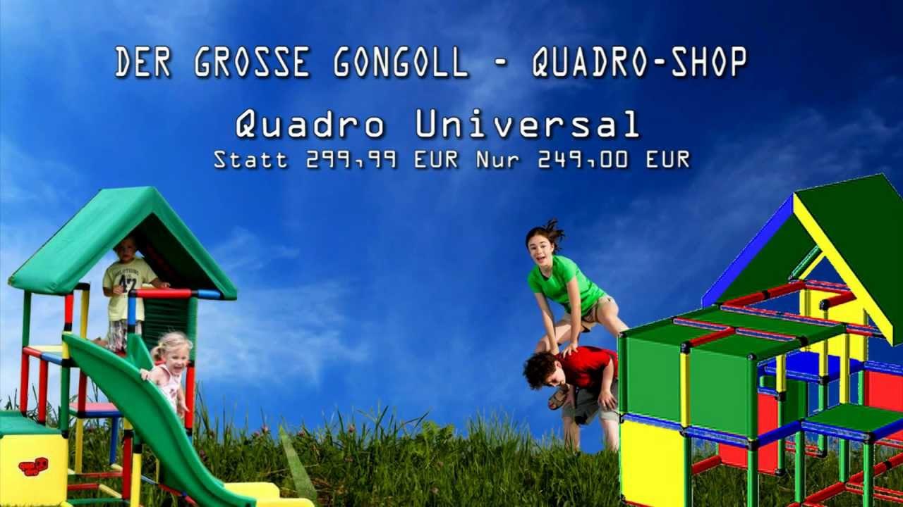 Klettergerüst Quadro Anleitung : Quadro universal im gongoll shop youtube
