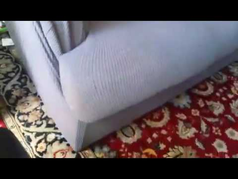 Subrtex 2 Piece Spandex Stretch Sofa Slipcover Reviews - YouTube