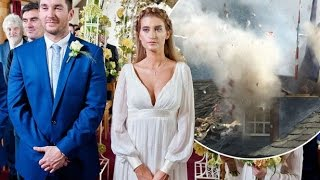 Emmerdale spoilers: Pete and debbies Wedding day Rocked by helicopter smashed