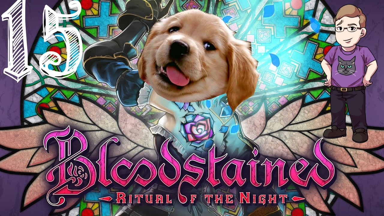 Let's Play Bloodstained: Ritual of the Night (Blind) Part 15 - Cute Puppies!