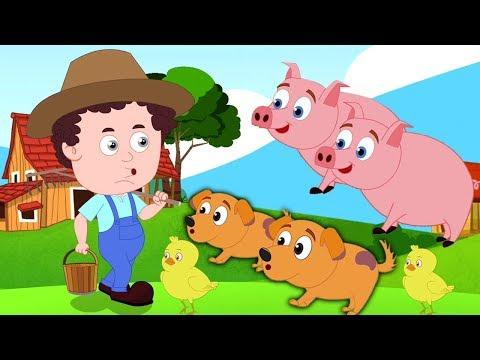 antigua macdonald granja | poema de niños | canción infantil | Kids Song | Old Macdonald Had A Farm