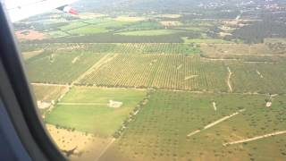 Excellent jet2 landing at palma mallorca airport