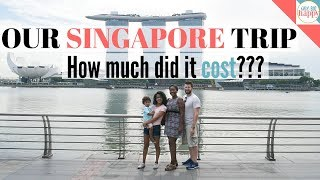 Singapore Family Vacation - How Much Did It Cost Us Exactly?