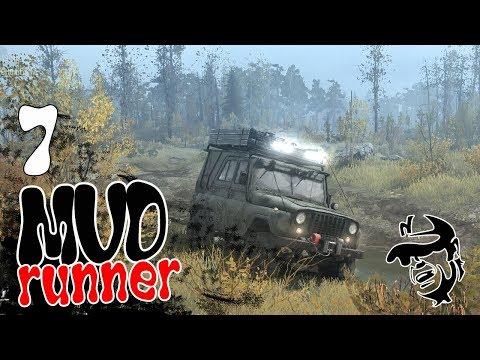 Первый день в тайге - ч7 Spintires MudRunner