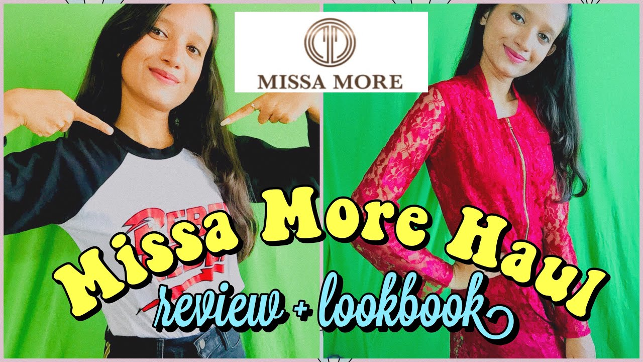 [VIDEO] – MISSA MORE HAUL + REVIEW + LOOKBOOK  || Missa More Clothing review