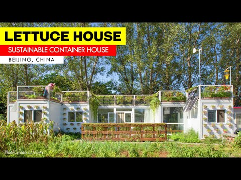 Lettuce House: Off-Grid Sustainable Container House in China