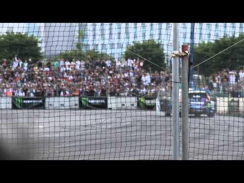 20130616 Ken Block Odaiba Performace