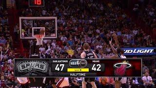 Inside The NBA (on TNT) Halftime Report – San Antonio Spurs vs. Miami Heat – March 31, 2015
