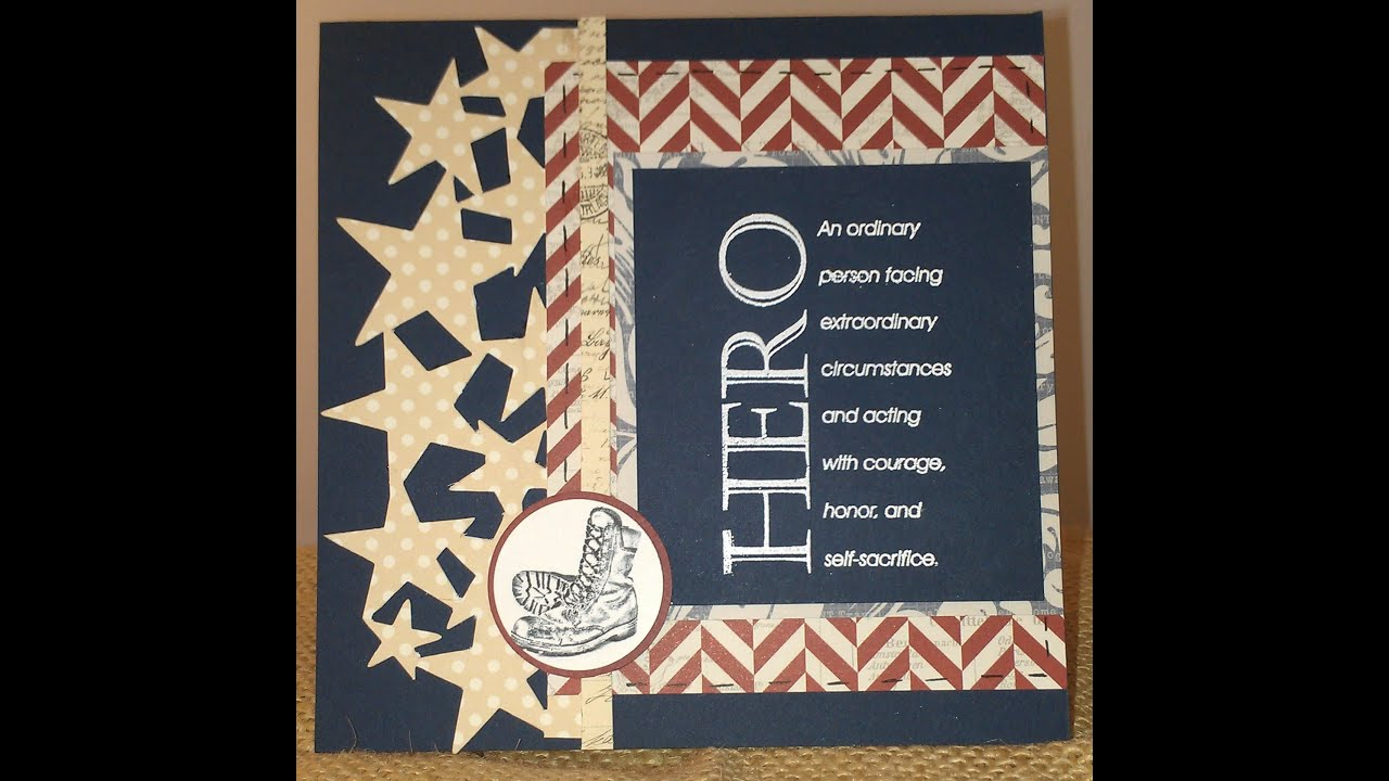 Veterans day card 2 youtube veterans day card 2 kristyandbryce Choice Image