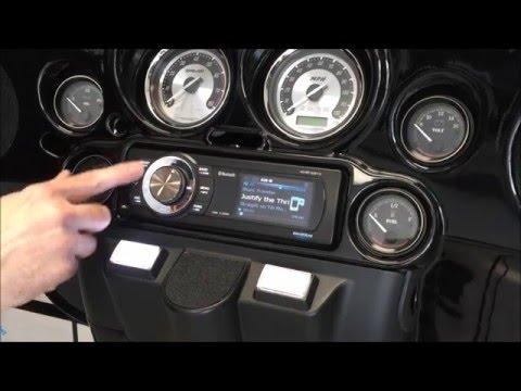 SiriusXM Harley-Davidson Stereo AQ-MP-5UBT-HS