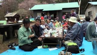 5月18日(日)に、笠取山で多摩川源流水干祭りに参加しました!「水...
