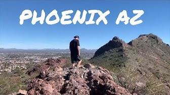 PHOENIX ARIZONA - TOUR and VLOG (HIKING, MUSEUMS, BOTANICAL GARDENS) #travelvlog