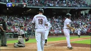 2012/04/06 Lee's tape-measure home run