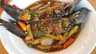 ต้มหม้อปลาร้าปลาดุกนา