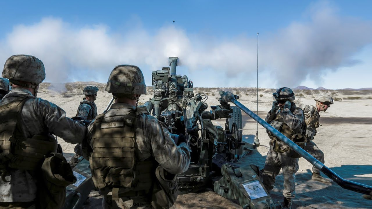 US Military News • U.S Marines Fire Support Coordination Exercise (FSCEX)  California – April 7 2021