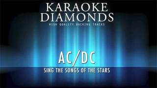 ACDC  Karaoke You Shook Me All Night Long