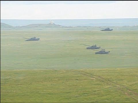 Vladimir Putin Salutes Battle Ready Troops