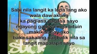 Repeat youtube video Langit lyrics - Ron Henley