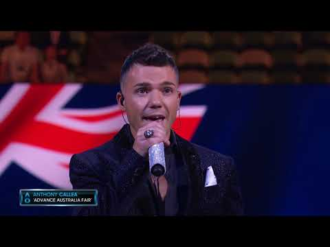 Anthony Callea - Advance Australia Fair - National Anthem