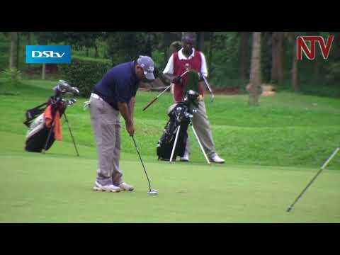 Stephen Ferreira is the man to beat at the Uganda golf open