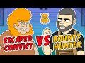 Escaped Convict vs. Bounty Hunter (Manhunt in the Woods)
