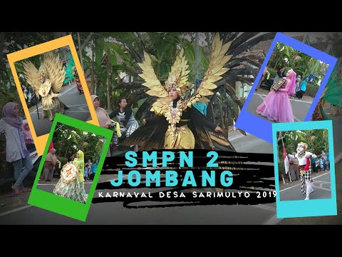 "SMPN 2 Jombang,jember ""Karnaval Umum"" Desa Sarimulyo 2019 (HUT INDONESIA 74)"