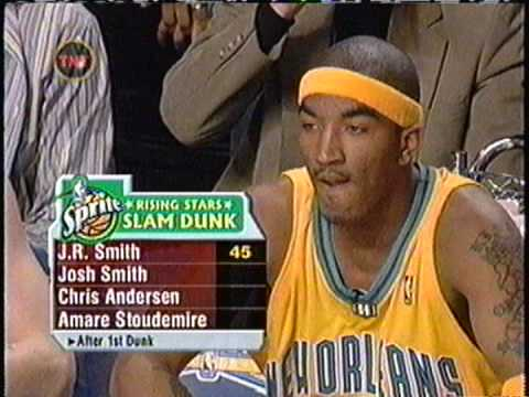 J.R. Smith - 2005 NBA Slam Dunk Contest