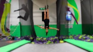 Video TRAMPOLINE PARK FUN! download MP3, 3GP, MP4, WEBM, AVI, FLV Desember 2017