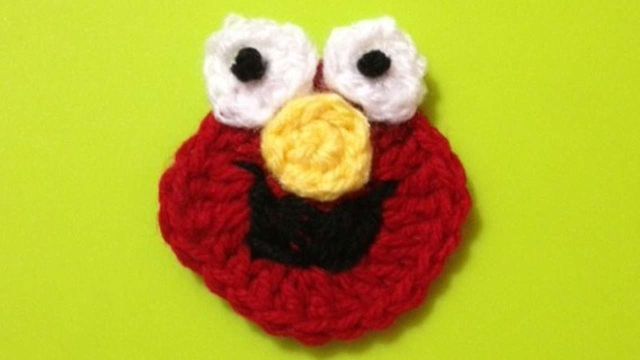 How to crochet sesame street elmo applique diy crafts tutorial how to crochet sesame street elmo applique diy crafts tutorial guidecentral youtube bankloansurffo Gallery