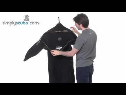 Poseidon Jetsuit TNG Technica Drysuit - www.simplyscuba.com