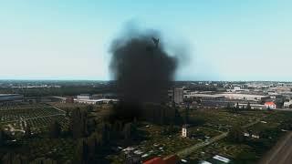 B-52 Bomber Crash at London