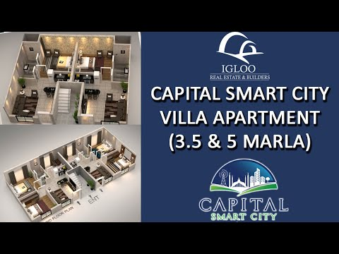 Capital Smart City Villa Apartments | 3.5 Marla & 5 Marla Ap